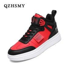 Youth White Women's Men's Sneaker Trend High Top Platform Shoes Men 2021 Spring Designer Vulcanized Shoes Elegant Brand Sneakers