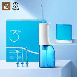 Xiaomi Soocas W3 Pro Portable Oral Irrigator Rechargeable Waterproof Toothpick Oral Cleaning Tooth Whitening 360 ° Rotary Nozzl