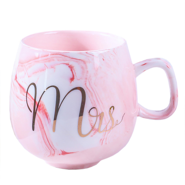 креативные мраморные кофейные кружки фламинго 350 мл керамическая фотография