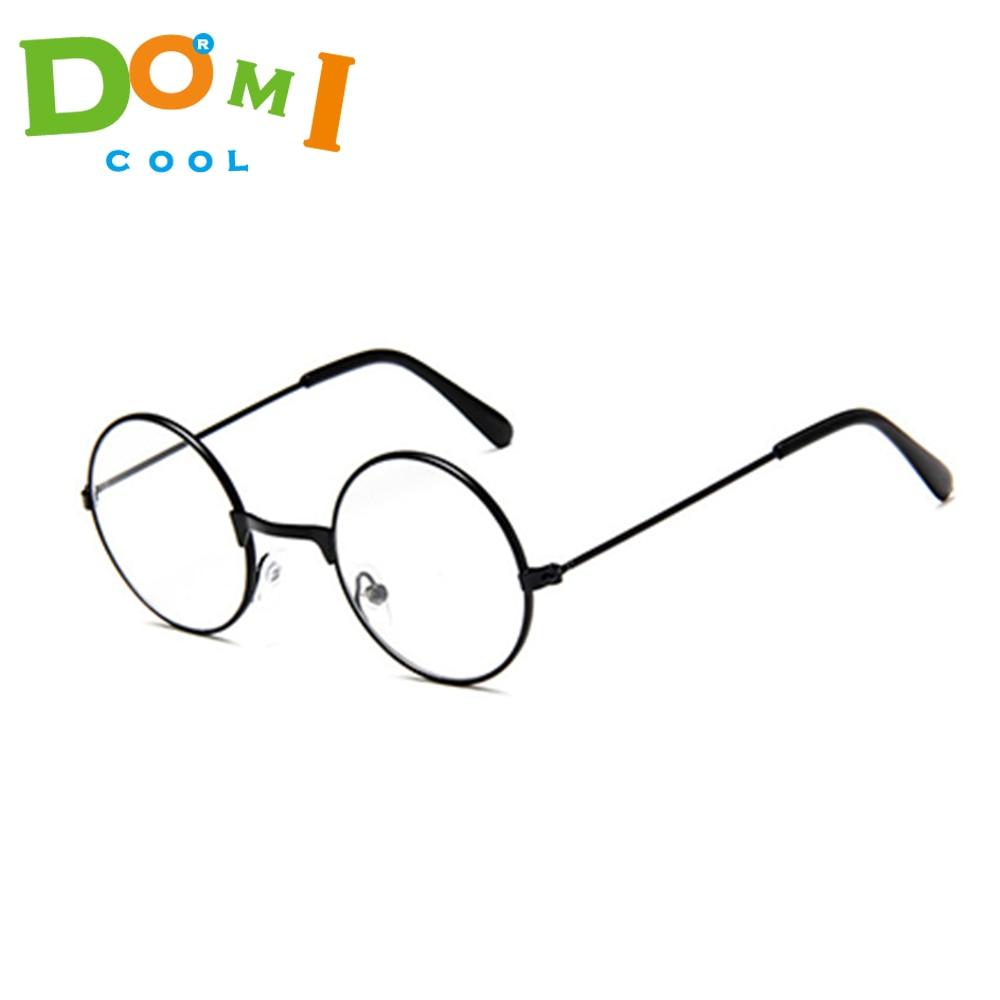 Large Oversized Big Round Metal Frame Color Lens Round Circle Eye Glasses XS