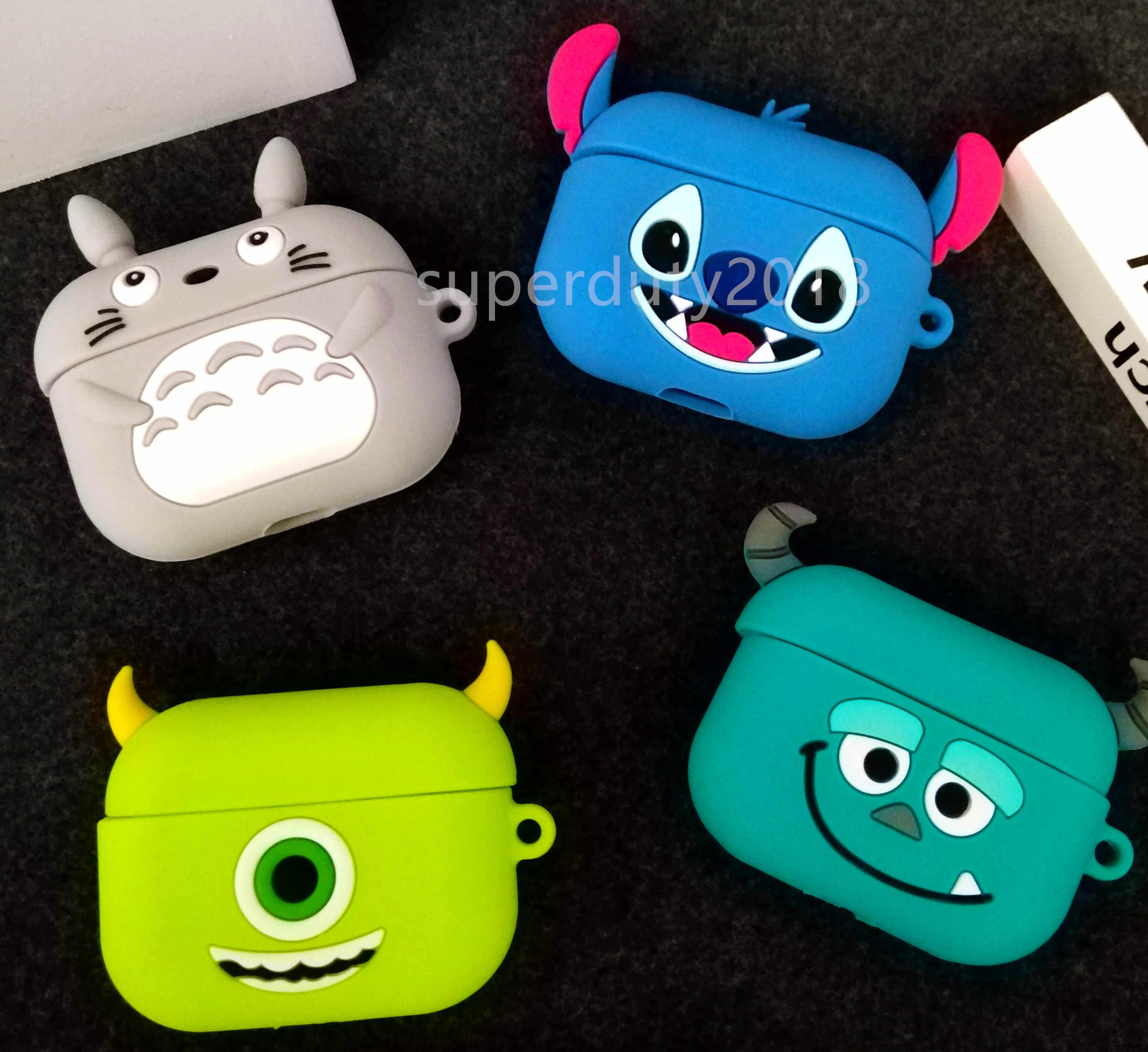 Śliczne etui do Airpods Pro etui bezprzewodowe do apple Airpods Pro 3 skrzynki pokrywa do air pods pro silikonowe etui na słuchawki ochronne