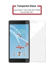 На Алиэкспресс купить стекло для смартфона tempered glass for lenovo tab v7 6.95дюйм. lenovo tab 4 7.0 tb-7304 tb-7504 e7 e8 tb-7104f 7104 7.0 tb-8304f tb-8304n 8304 8.0 glass