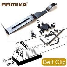 Armiyo-faja para arma oculta para G17, funda deslizante G 17 19 22 23 24 25 26 27 28 30S 31 32 33 34 35 36, portaobjetos con Clip para pistola