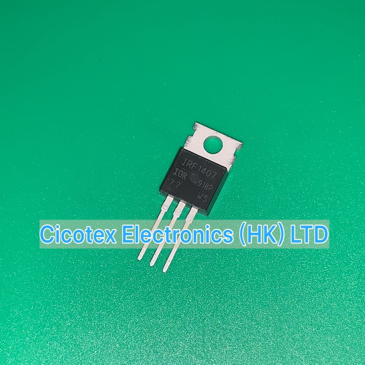 10pcs/lot IRF1407 PBF TO220AB IRF1407PBF IRF 1407 MOSFET N-CH 75V 130A TO-220AB 1407PBF