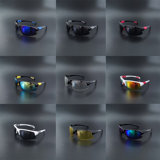 UV400 Cycling sunglasses Sport running fishing driving goggles 2020 MTB road bike glasses male bicycle eyewear fietsbril men