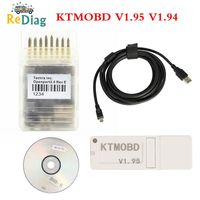 Newest KTMOBD V1.95 V1.94 KTMOBD ECU Upgrade Tool DiaLink J2534 Transfer Stable Real Reading KTM OBD USB Dongle