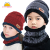 Boys Knitted Wool Hat 1