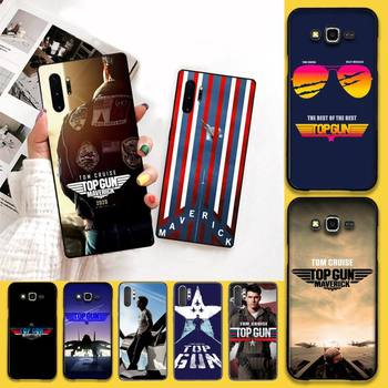 Перейти на Алиэкспресс и купить Чехол для телефона CUTEWANAN Top Gun Maverick Tom Cruise, чехол для Samsung Galaxy J7 J8 J6 Plus 2018 Prime Note 7 8 9 10 pro