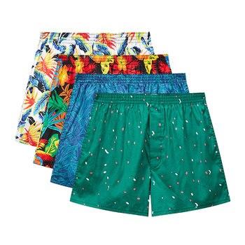 Man's Classic Basics New High Quality 100% Cotton Sleep Shorts Men Casual Loose Pants Summer plaid Home Underwear 10 - sale item Men's Underwears