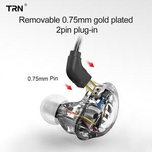 Image 5 - Trn V10 2DD 2BA Hoofdtelefoon Hybrid In Ear Oortelefoon Hifi Dj Monitor Running Sport Oortelefoon Headset Trn V90 V20 V80 v30 AS10 T2 Vx