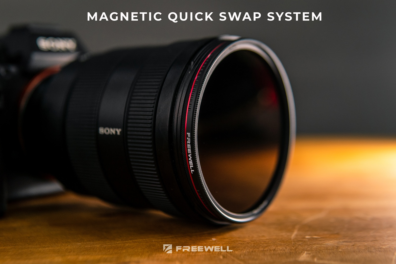 3 f-Stops Camera Filter Freewell Magnetic Quick Swap System 72mm Netural Density ND8