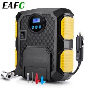 Image 1 - Gonfleur de pneu numérique DC 12 volts voiture Portable compresseur dair pompe 150 PSI voiture compresseur dair pour voiture vélos motos