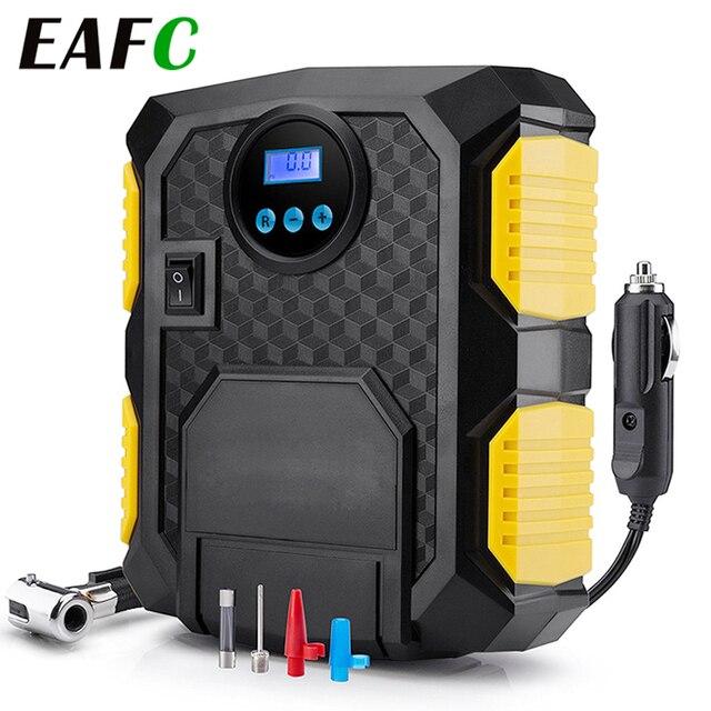 Gonfleur de pneu numérique DC 12 volts voiture Portable compresseur dair pompe 150 PSI voiture compresseur dair pour voiture vélos motos