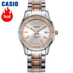 Casio vigilanza delle donne orologi top brand di lusso set 50m Impermeabile della vigilanza delle signore delle donne Regali Orologio della vigilanza del quarzo reloj mujer LTP-1359