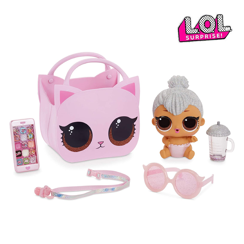 2020 из серии «Lol Surprise» Lil Kitty Королева-улала ребенок сюрприз модный костюм глухая коробка Diy игровой домик глухая коробка подарок-сюрприз для д...