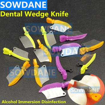 Dental Wedge Knife Teeth Gap Orthodontic Assisted Occlusion Tool Dental consumables materials protector Interdental refill assisted living