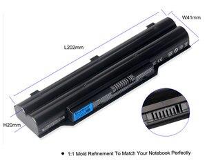 Image 4 - KingSener FPCBP250 Battery For FUJITSU LifeBook A530 A531 PH521 AH530 AH531 LH701 LH520 LH522 FMVNBP186 FMVNBP189 CP477891 01