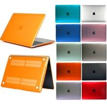 Чехол для ноутбука MacBook Pro 16 дюймов матовая текстура чехол для ноутбука устойчивый к царапинам матовый защитный чехол для MacBook Pro 16