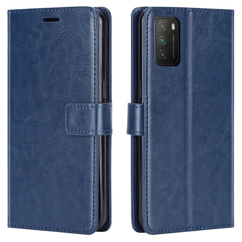 Роскошный кожаный флип-чехол для Xiaomi POCO M3, чехол POCO M3, задний Чехол для Pocophone M3 6,53 дюйма, чехол