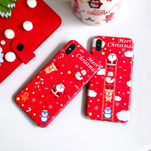 Merry Christmas Phone Case For Iphone 11 Pro Max Cases For X XR Xs Max 8 7 6 6s Plus Soft IMD TPU Case Back Cover Fundas Gift phone case for iphone 11 pro max shockproof plating clear tpu back cover for iphone 6 6s 8 7 plus x xr xs max 11 pro max fundas