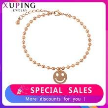 Xuping прекрасный браслеты из нержавеющей стали популярные ювелирные изделия семья день рождения персонализированные модные подарки для женщин S192-76793