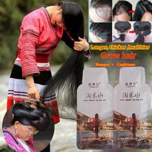 Szampon do włosów ryżowych kuracja przeciw wypadaniu włosów Serum szybki wzrost dłuższe grubsze włosy dla mężczyzn kobiety najlepszy produkt do włosów tanie tanio 2019217332 CN (pochodzenie) Produkt wypadanie włosów Shampoo 2pcs 15ml+15ml