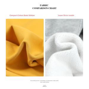 Image 3 - SIMWOOD 2020 jesień nowe bluzy mężczyźni Casual minimalistyczna bluza O neck haft logo Plus rozmiar zwykły sweter SI980547