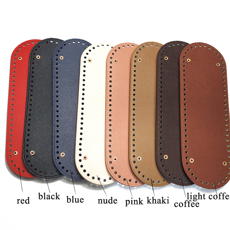 1PC Bag Bottom Shaper Bags Cushion Pad For Shoulder Handbag Making DIY Purse Solid Color 64 Holes Accessories High Quality