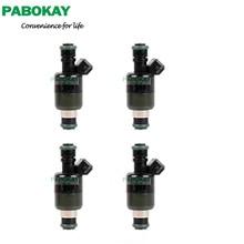 4 stück x Kraftstoff Injektoren Düsen Für Chevrolet Opel Corsa 1.4; 1,6 8v Daewoo Cielo 17124782 ICD00110 17123924 25165453