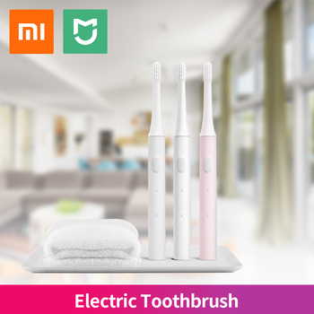 Orignal Xiaomi Mijia Sonic Electric Toothbrush Adult Mi T100 Tooth Brush Healthy IPX7 Waterproof USB Rechargeable pink bule whit