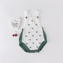 BABY BALL Baby Rompers 2019 Fashion Autumn Winter Knitting Roddler Cotton Clothing For Kids Unisex