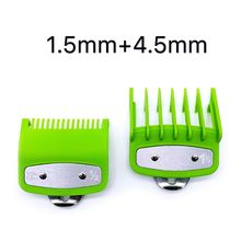 2/8/10PCS Barber Shop Styling Guide Comb Hair Trimmer Clipper Green Limit Comb M2EE
