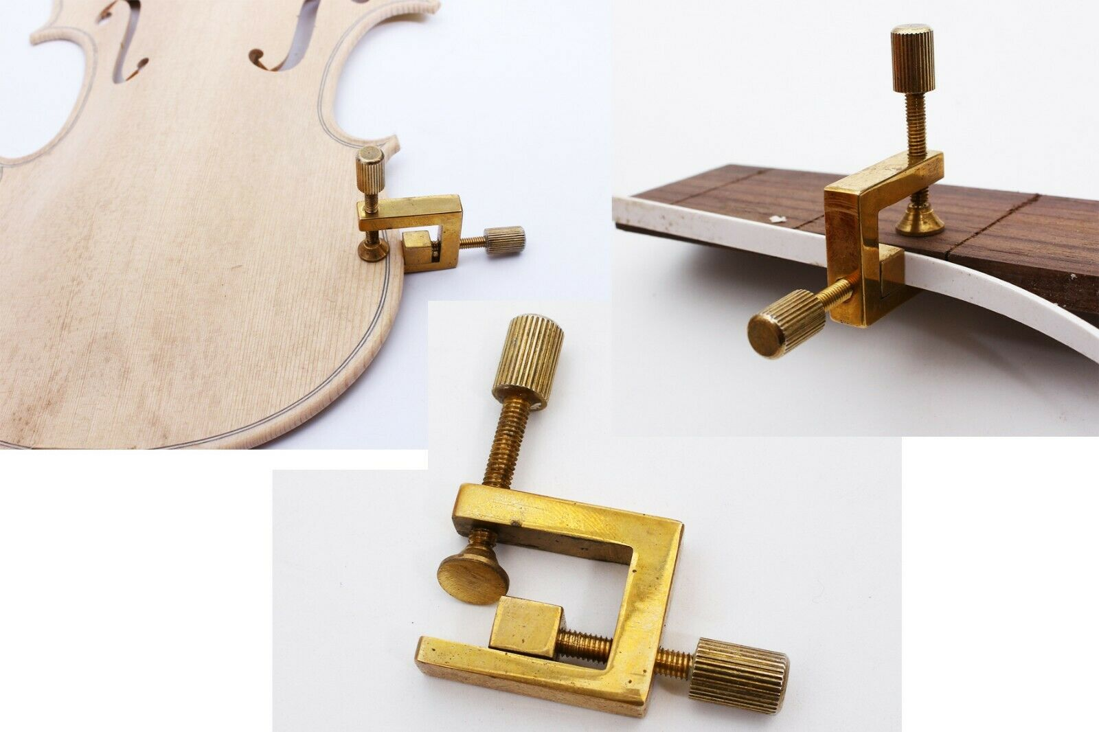 Ferramenta de Tomada de Violino Cola Grampos de Guitarra de Bronze