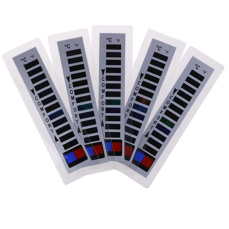 Satu atau 5 Pcs Merek Dagang Merek Thermometer Liquid Crystal Jaket Ski Cocok untuk Rumah Tangga Thermometer Pakaian Hangat Rumah Produk