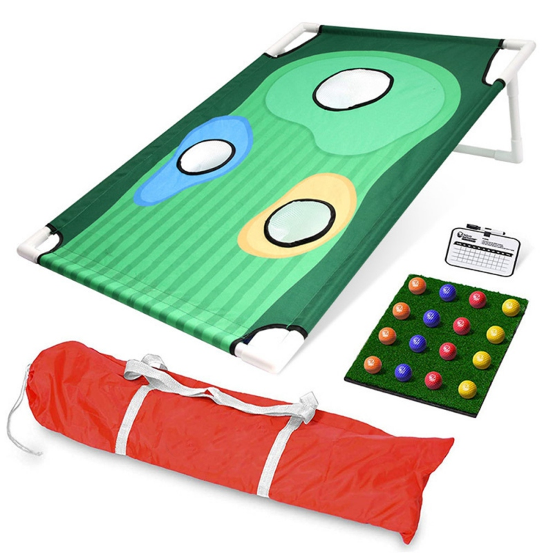 Golf Cornhole Game for Indoor