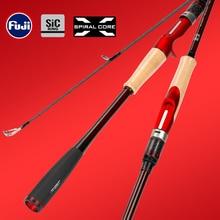 TSURINOYA High Profile Fishing Rod Inspiration 2.21m/2.36m ML Light Weight Fuji Accessories Bait Casting Spinning Carbon Rod