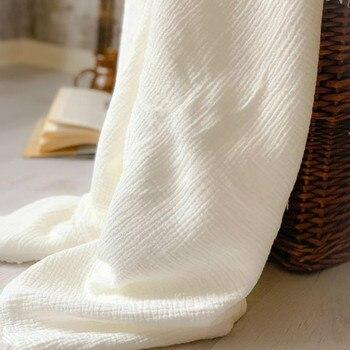 Mantas de algodón para bebé recién nacido, 6 capas, Muselina, cuadrados