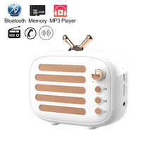 Speaker Bluetooth Portable Wireless FM Radio MP3 Music Speakers PC Mini Sound box Play-Time 8 Hours BT Phone Speaker Subwoofer цена
