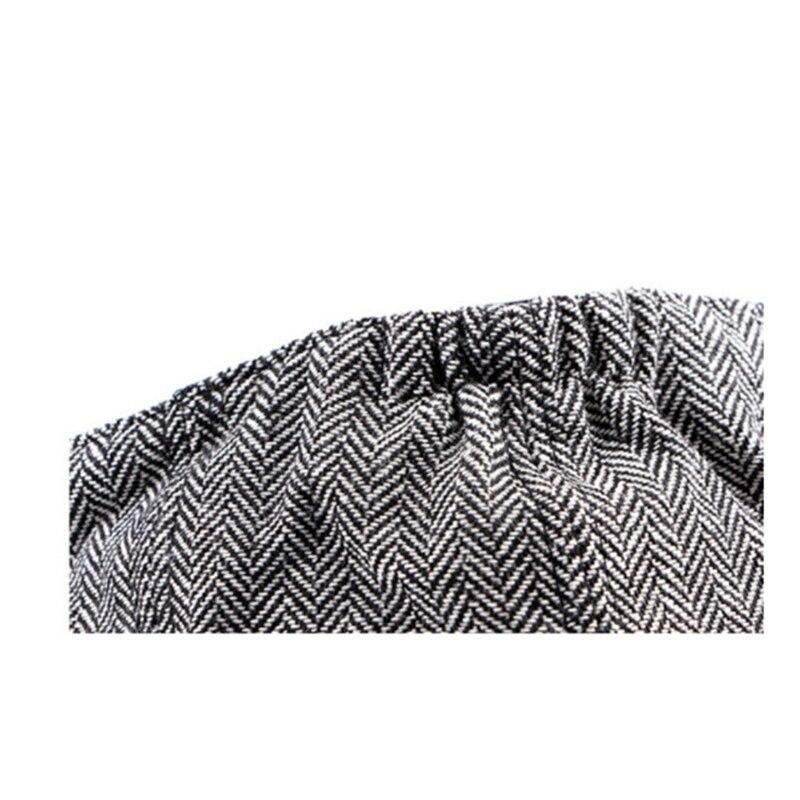 Мужские Восьмиугольные шляпы в британском стиле Зимняя шерстяная шапка Кепка-восьмиклинка картуз Гольф Вождение Осень Женская хлопковая плоская кепка таксиста кепка газетчика