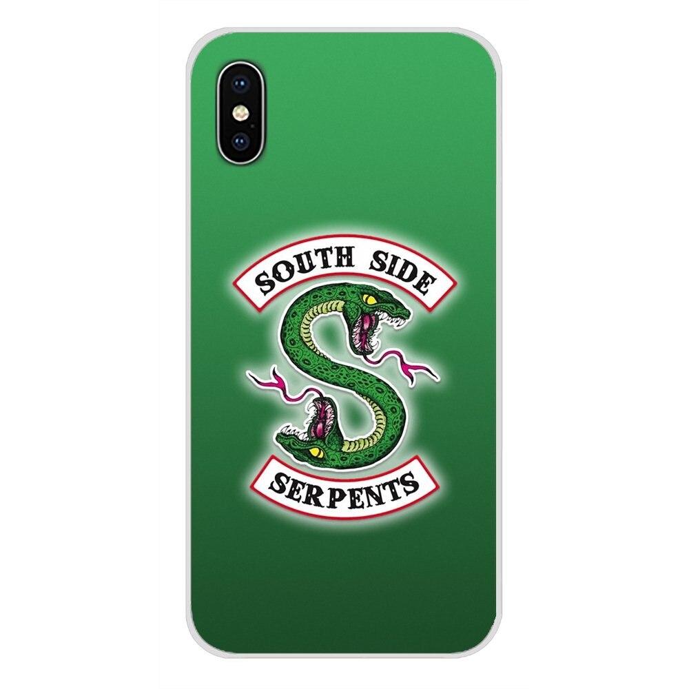 Riverdale South Side Serpents accessoires coques de téléphone couvre pour Motorola Moto X4 E4 E5 G5 G5S G6 Z Z2 Z3 G G2 G3 C Play Plus