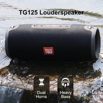 Portable Bluetooth Speaker 20w Wireless Bass Column Waterproof Outdoor Speaker Support AUX TF USB Boombox Stereo Loudspeaker 40w speaker waterproof bluetooth portable wireless bass column support aux tf usb boombox stereo loudspeaker