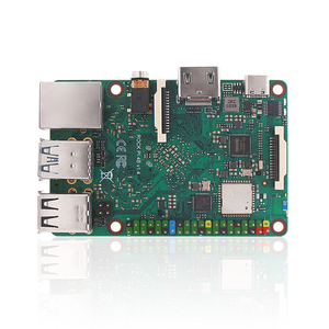 Image 2 - ROCK PI 4B V1.4 Rockchip RK3399 ARM Cortex Six Core SBC/Single Board Computer Compatible with Official Raspberry Pi Display
