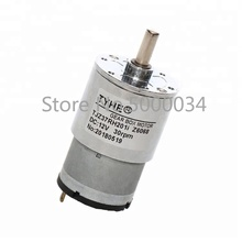 цена на Customizable Diameter 37mm 12v 3500rpm high rpm low torque high torque brush dc electric spur gear motor for agent