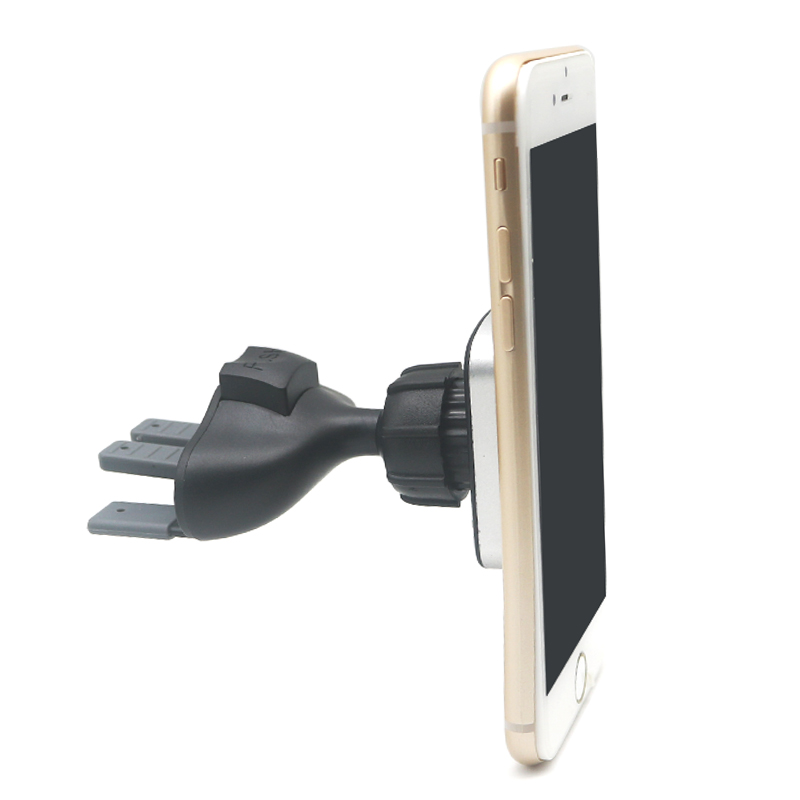 Magnetic Car CD Slot Air Vent Mount Stand Cell Phone Bracket Adjustable Car Mobile Phone Holder Universal For IPhone X Samsung