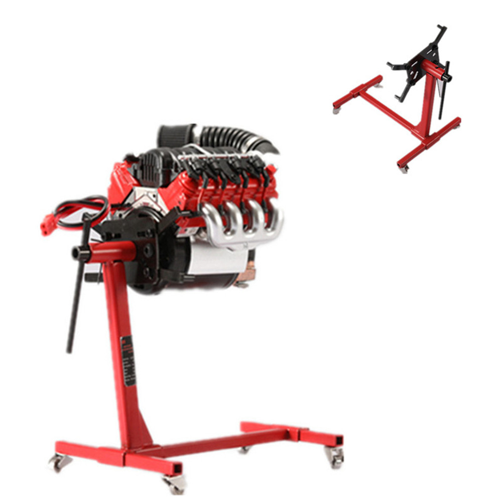 V8 Engine Work Stand For 1:10 V8 Scale Engine (Z-S1043) Workbench Tamiya Tractor TRX4 Denferder G500 RC Car Parts Tools