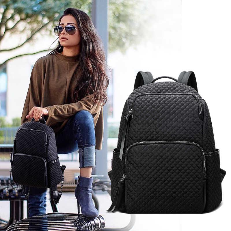 BOPAI 2019 nowych moda wodoodporna dzikie lekki podróży plecak o dużej pojemności torby damskie plecak kobiet