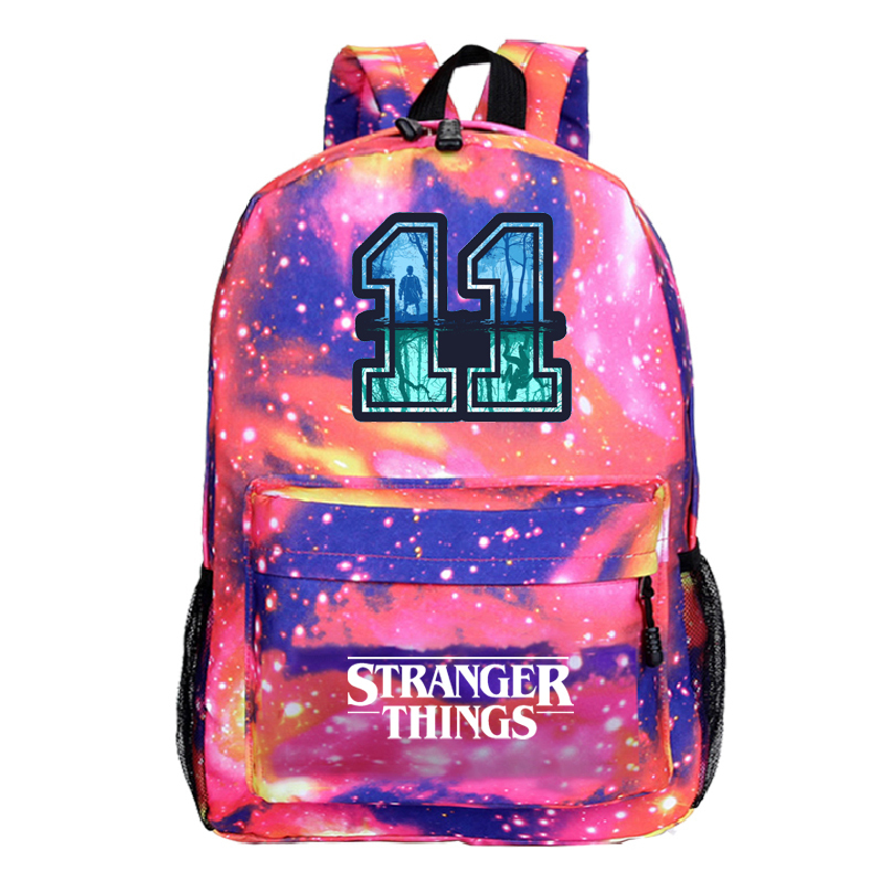 Backpack Sac A Dos Stranger Things 3 Eleven Femme School Bags Anime Travel Backbag Mochila Back To School Bags Teenage Unisex