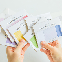 Note-Set Memo-Pad Diary-Stickers Color-Palette Multi-Size Adhesive School-Supplies Office