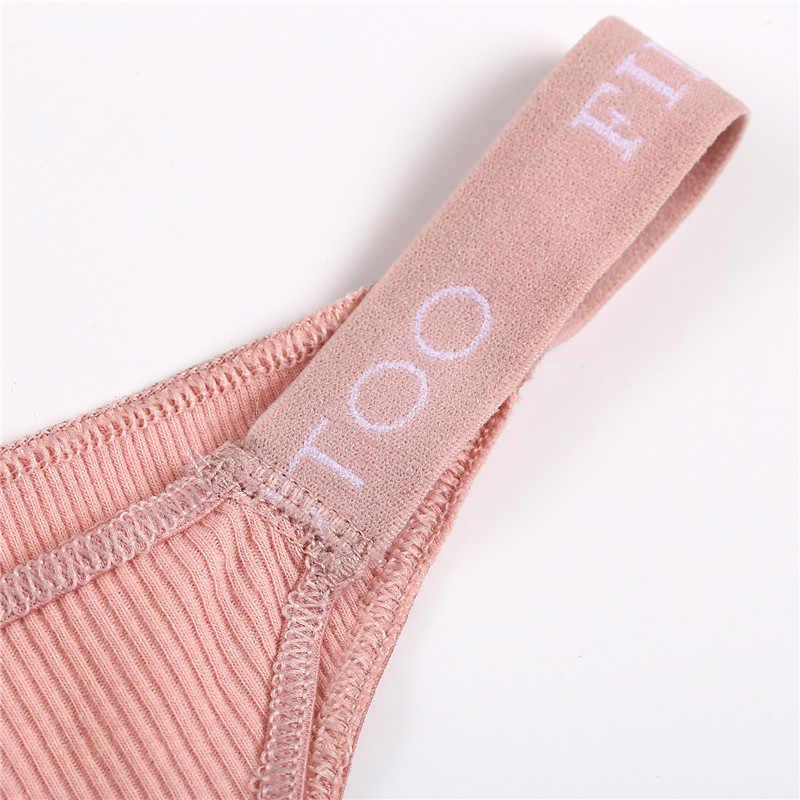 Finetoo 3 Stks/set Vrouwen Thongs Mode Brief Katoenen Slipje M-XL Vrouwelijke Underpants Dames Sexy Ondergoed Vrouwen Bikini Panty Nieuwe
