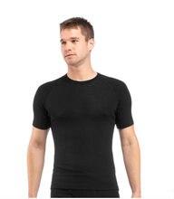 Мужская футболка из 100% мериносовой шерсти 160 базовый слой